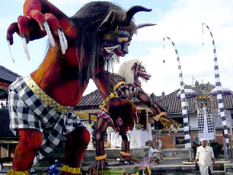 Ogoh Ogoh Festival To Welcome The Nyepi Day In Bali