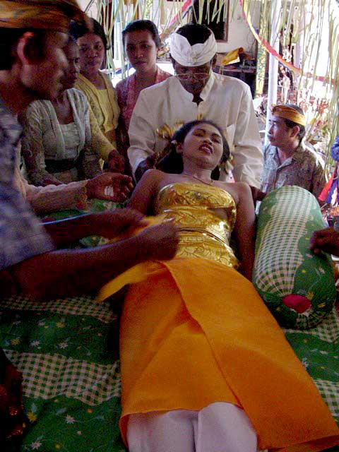Teeth Filling Ceremony In Bali Discover Bali Indonesia